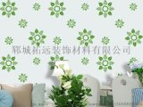 供應液體壁紙模具、液體壁紙漆、沙畫絲網印花模具、鏤印模具