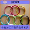 鍍鋅包膠鋼絲繩,彩色耐磨塗塑鋼絲繩