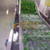 DR-10速凍黃秋葵清洗設備 自動秋葵清洗護色線
