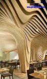 德阳仿木纹铝方通  市政设施3D木纹铝型材 木纹弧形铝方通 90x40铝方管