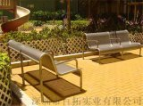 戶外雙人公園椅廣場庭院休閒長椅小區休閒鐵藝座椅