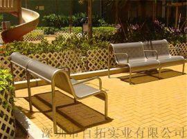户外双人公园椅广场庭院休闲长椅小区休闲铁艺座椅