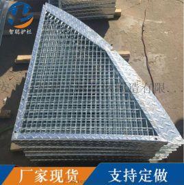 镀锌钢格栅板 定做异形钢格板 重型钢格板