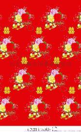 纯棉床品小磨毛活性印花面料大布头