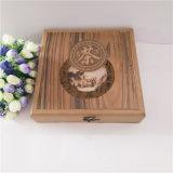 厂家直销木质茶叶包装 普洱茶饼茶盘茶叶包装盒可定制