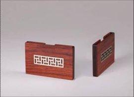 红木名片盒