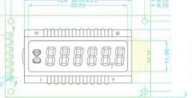 江苏工业计时器LCD显示屏