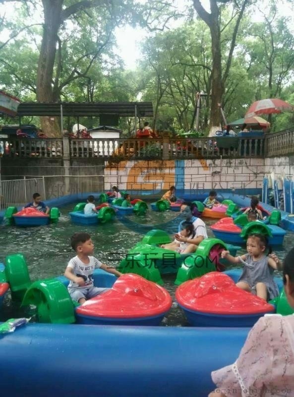 水上游乐设备——儿童手摇船