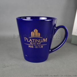 上海马克杯定制logo,印刷陶瓷杯刻字水杯
