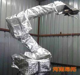 ABB机器人隔热防护服_阻燃防护罩,耐高温阻燃好