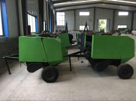 秸秆捡拾打捆机,拖拉机带5080型草捆打捆机