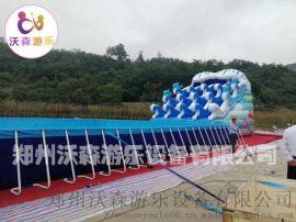支架游泳池设备,山西大同夏季儿童玩水好去处