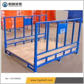 折叠式布匹堆垛架,堆垛货架,物料周转架