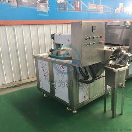 江苏油炸豆泡机器 工艺指导电加热油炸豆泡机器厂家