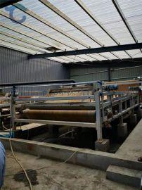 矿场砂场淤泥脱水压滤机 环保泥浆带式压泥机