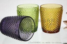 透明玻璃杯耐热耐高温茶杯酒杯水杯