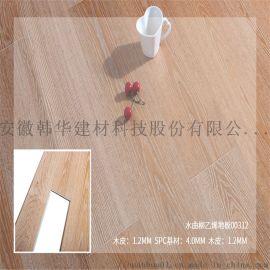 雪雁 实木水曲柳乙烯地板贴皮vspc复合地板