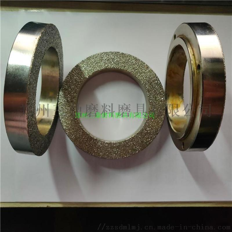 电镀金刚石砂轮磨铸铁