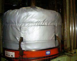 可拆卸式工业设备防腐防火防水反应釜保温套