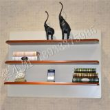 美式吊板储物架酒店家居墙壁壁挂搁板实木欧式创意一字隔板置物架