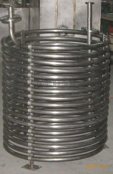 弘顺四川不锈钢螺旋加热盘管 定做 生产厂家