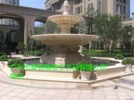 豪晋玻璃钢雕塑跌水喷泉、艺术叠泉雕塑