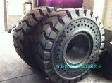恒泰达50吨装载机实心轮胎23.5-25,钢厂矿山专用