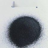 本格亮黑工业除锈砂 耐磨地坪用金刚砂骨料 耐火材料