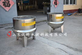 德州扒鸡蒸煮锅,可自动控温的蒸汽夹层锅