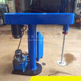 直销吉林4KW液压升降分散机 乳胶漆搅拌机