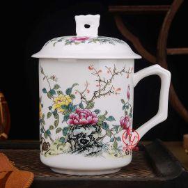 企业办公陶瓷茶杯定制