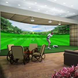 高速摄像模拟高尔夫室内高尔夫 韩国原装进口