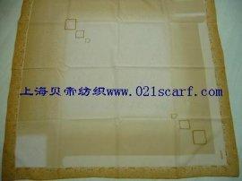 化纤印花方巾 (S-1001)