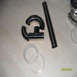 25*1.5不锈钢卫生弯头焊接连接卫生钢管90度平口内外抛光