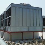 厂家直销小型注塑机冷却塔 工业型耐高温100吨逆流式冷却塔批发