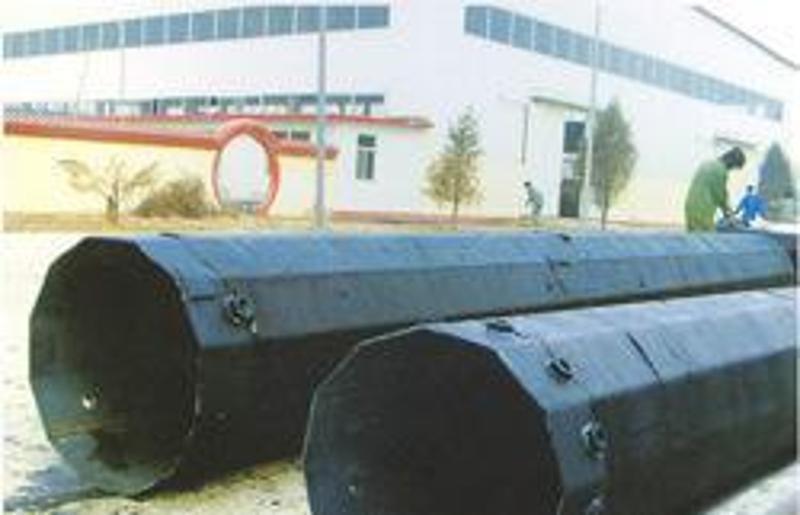 山东铁路物资处10KV电力钢杆及电力钢杆打桩施工