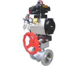 PSRV641W气动V型球阀
