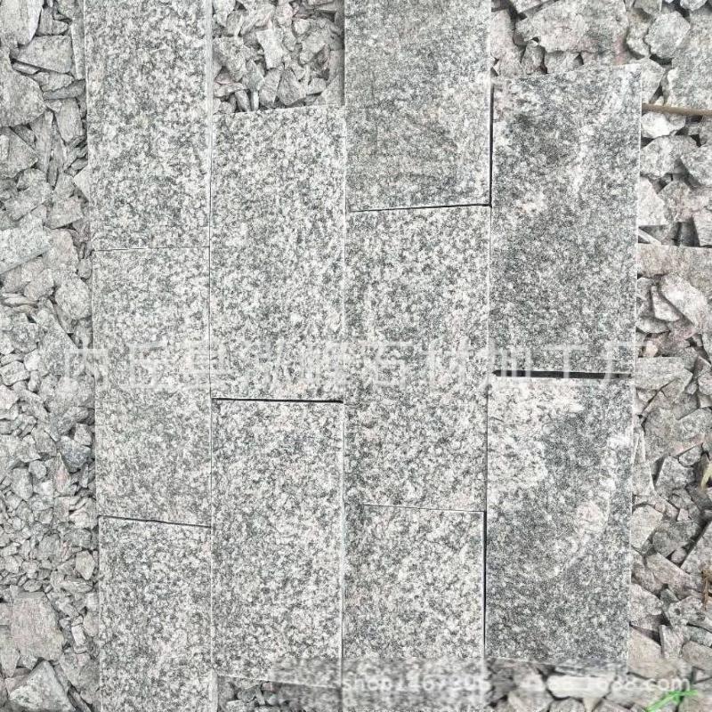 销售鲁灰G343蘑菇石 自然面大块石 鲁灰马蹄石及各种鲁灰板材加工