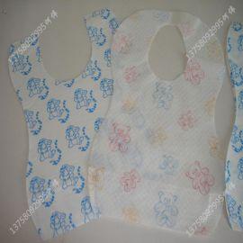 無紡布口水巾生產廠家_口水兜新價格_供應多種無紡布口水巾