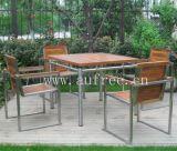 柚木戶外桌椅組合