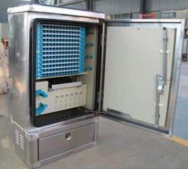 304不锈钢144芯光缆交接箱-落地式光缆交接箱