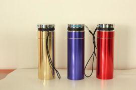 智能音乐水杯 不锈钢保温杯 蓝牙/MP3/手电筒/收音机