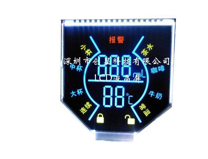 VA产品咖啡机用LCD屏
