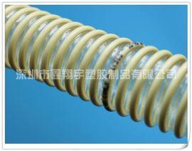塑筋管,PU塑筋吸尘管,透明塑筋增强管