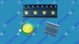3535黃光 陶瓷3535 紅黃色燈珠汽車燈專用