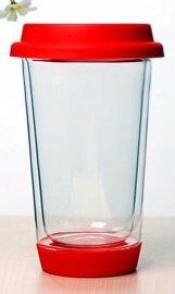 双层杯耐热隔热防烫无铅无镉**环保双层设计通透性好纯手工生产