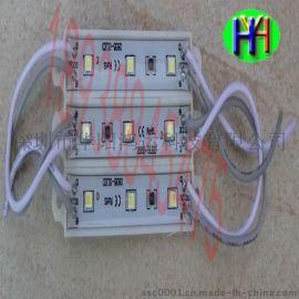 LED模组2835防水3灯高亮模组2835广告模组