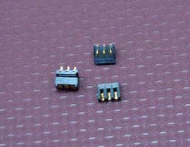 3PIN数码电池座子 刀片式3PIN电池连接器 3PIN接插件