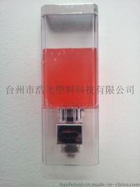 酒店用品 宾馆用品卫浴用品单体镀铬皂液器 **专利设计HF-960-1