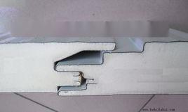 厂家直销聚氨酯夹芯板,聚氨酯彩钢复合板